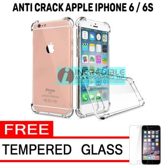 Pencarian Termurah Softcase Silicon Anti Shock / Anti Crack Elegant Softcase for Apple iPhone 6 /