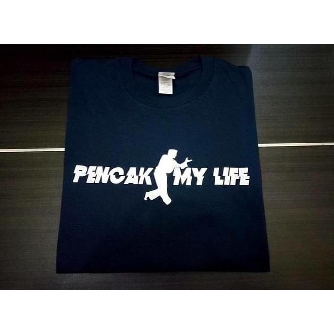 Kaos Tshirt Baju Combed 30S Distro Pencak Silat My Life Jersey Futsal - Comjersey