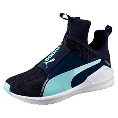 Puma sepatu training wanita Fierce Core - 18897718 - Navy