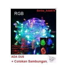 Lampu Tumblr LED Lampu Hias Lampu Natal Twinkle Light Serba_Ada878 + Colokan Sambungan Remote 8 Mode