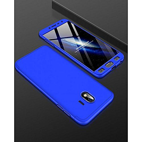 Ipaky 360 For Samsung Galaxy J4 2018 Cover Armor Baby Skin Premium + Tempered Glass_FT