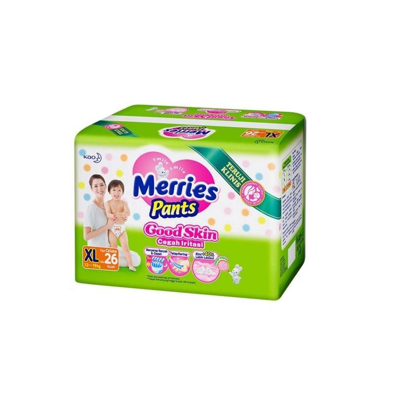 MERRIES Pants Good Skin Popok Celana XL26 / XL 26