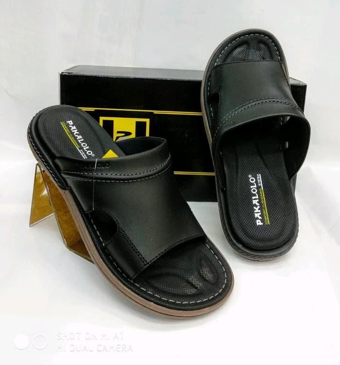 Sandal Kulit Pakalolo N0945 - Black