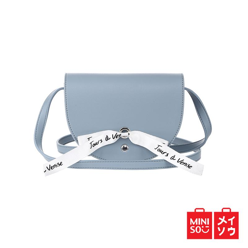 Miniso Official Fashionable crossbody bag with a ribbon 7db10824ee