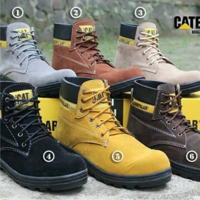 Sepatu Boots Pria - Sepatu Boots Murah - Sepatu caterpillar safety boots 0bd131979c
