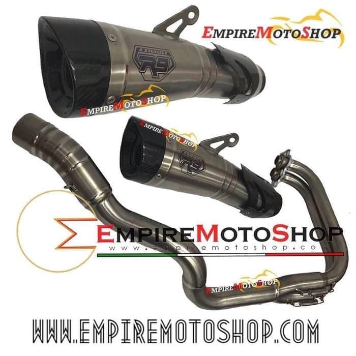 BEST QUALITY Knalpot R9 H2 New Yamaha R25 Titanium