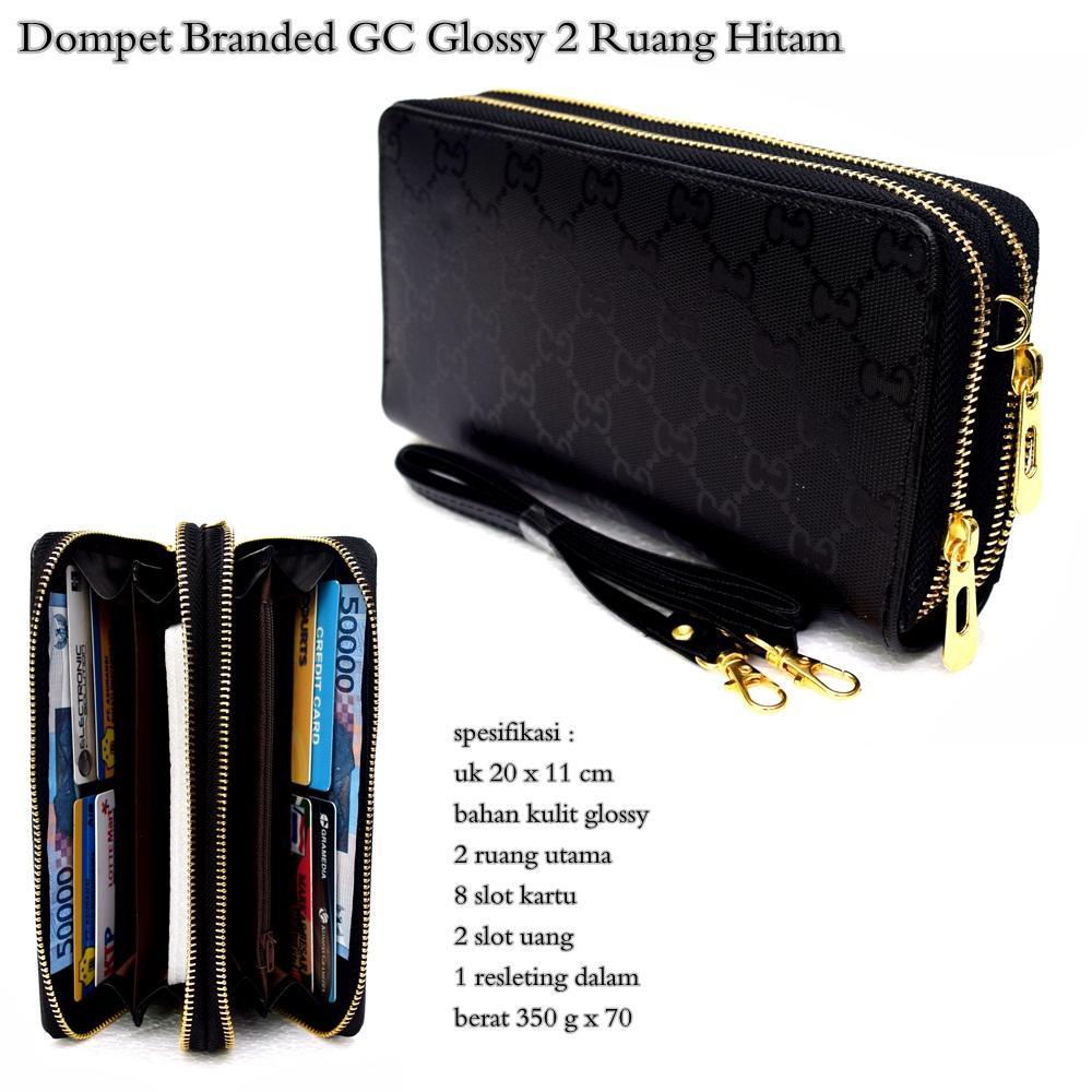 dompet wanita selempang clutch gc gloss 2 ruang