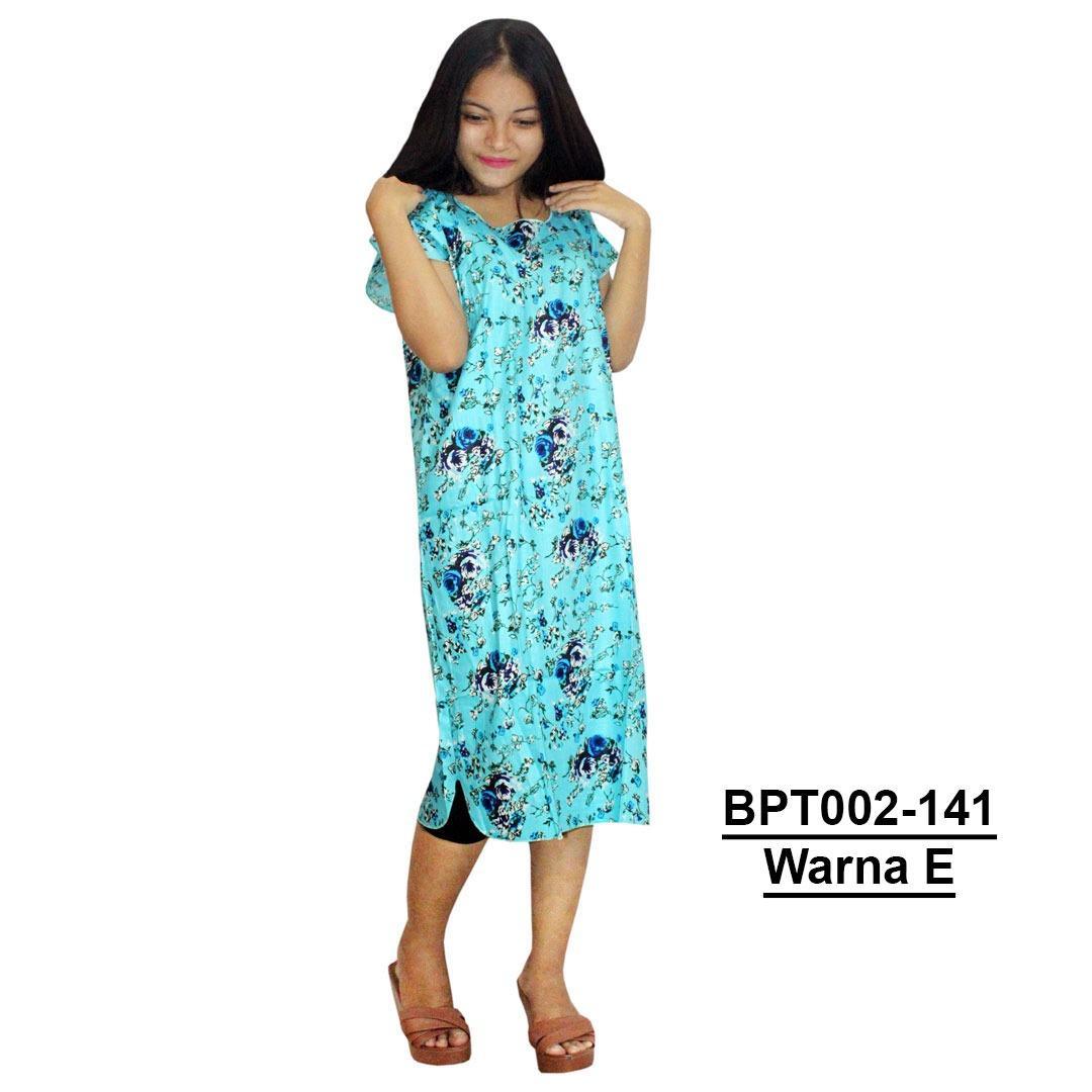 Midi, Daster Midi, Dress Santai, Baju Tidur, Piyama, Atasan Batik (BPT002-141) Batikalhadi Online
