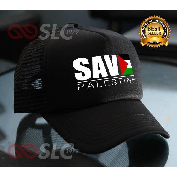 Rp 101.700. TOPI JARING TRUCKER SAVE PALESTINE PALESTINA J5 - SLC TerlarisIDR101700