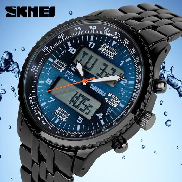 Skmei Sport Watch 1032 Original Water Resistant 50M - Blue - Ti9sck
