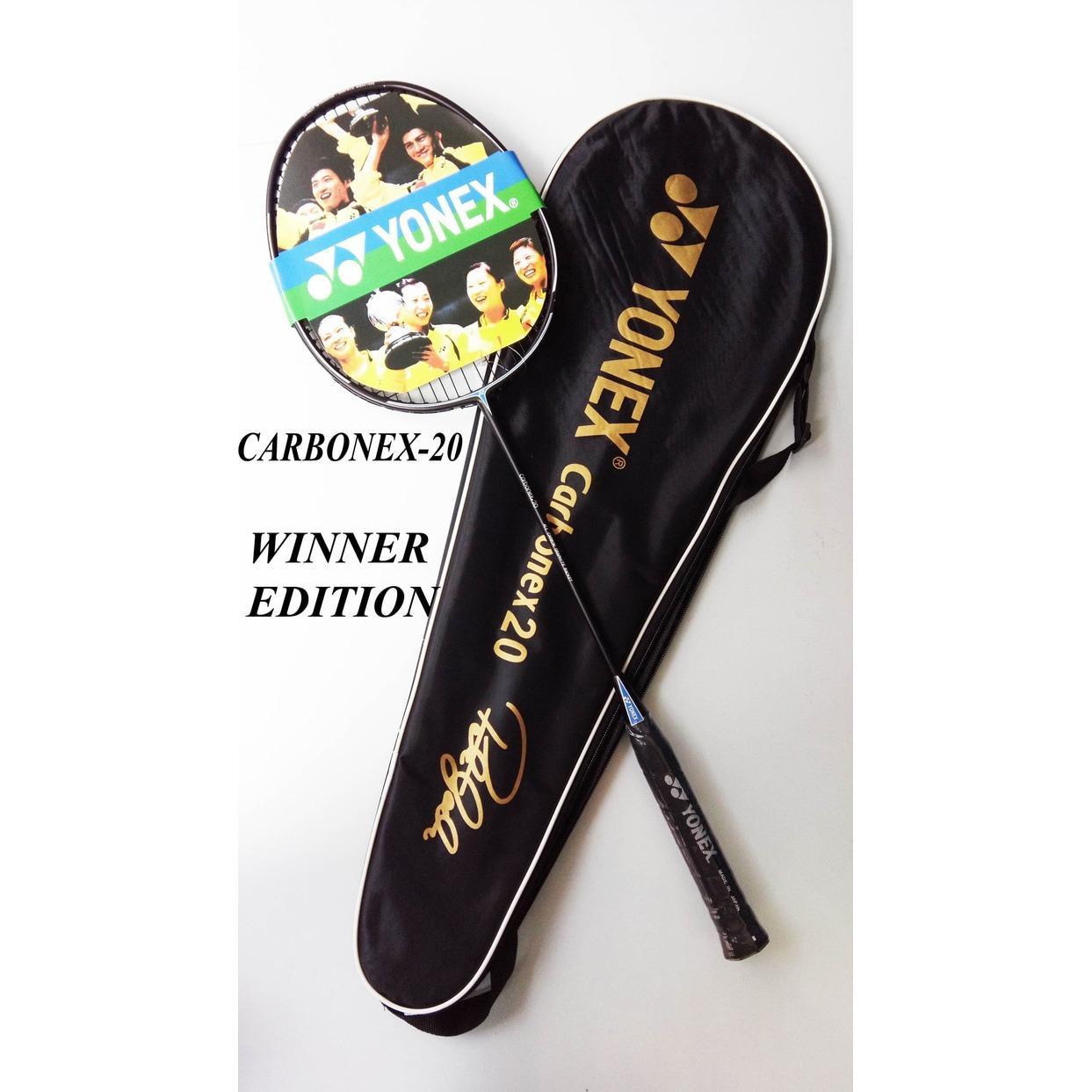 Jual Raket Bulutangkis Terbaik Badminton Morris Carbonex 20 Winner Edition 2018 Emboss Emas Bawah Gagang