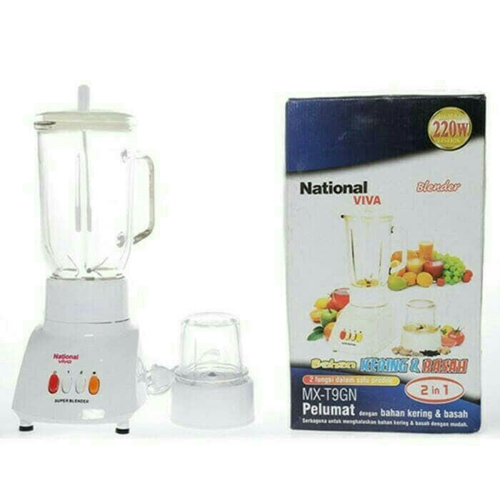 Blender National Viva Glass / Blender National Kaca blender murah