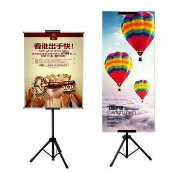 Promo Tripod Display / Stand Banner TRIPOD POSTER / TRIPOD Display BERDIRI Original
