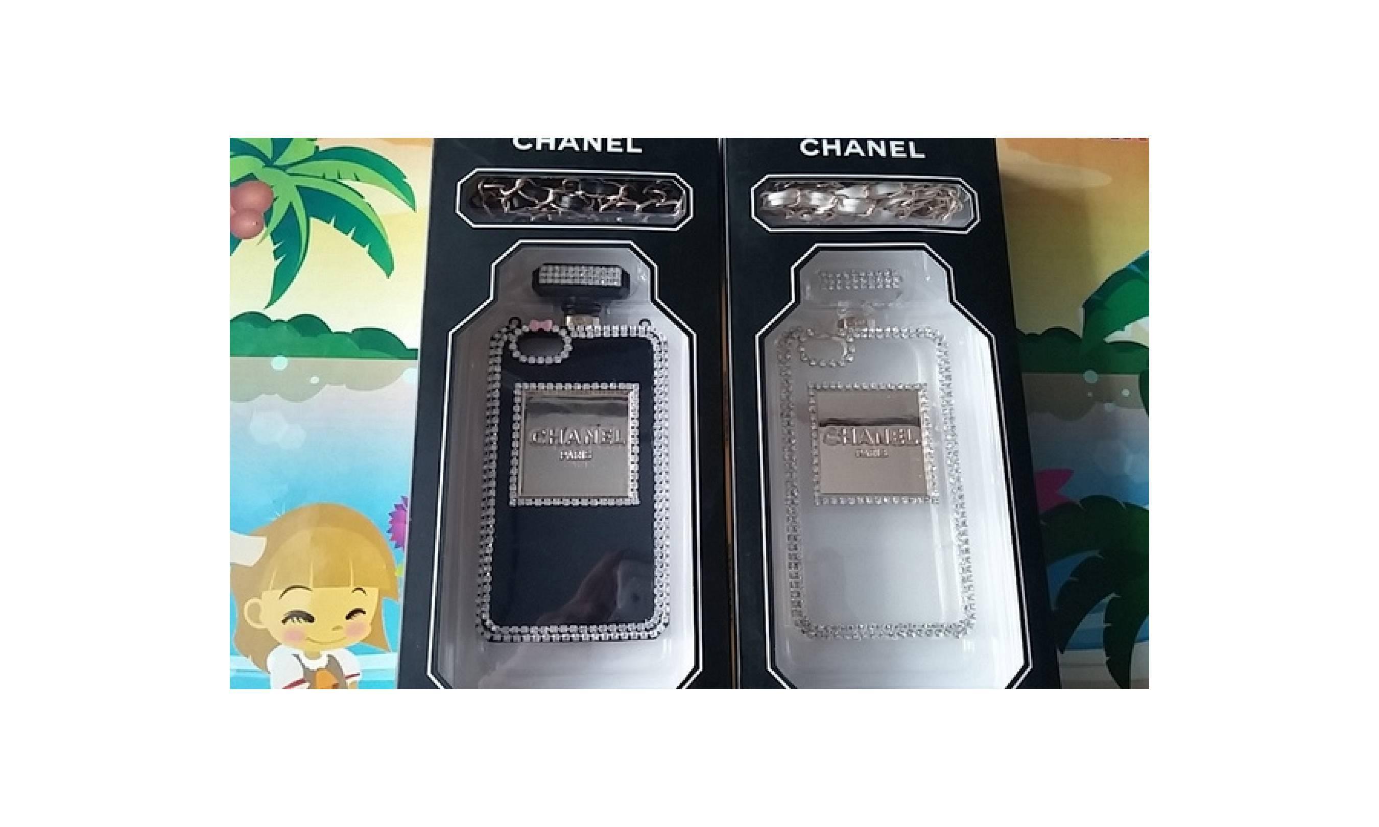 Apple Iphone 5 / 5S Perfume Bottle Paris Case Diamond Exclusive