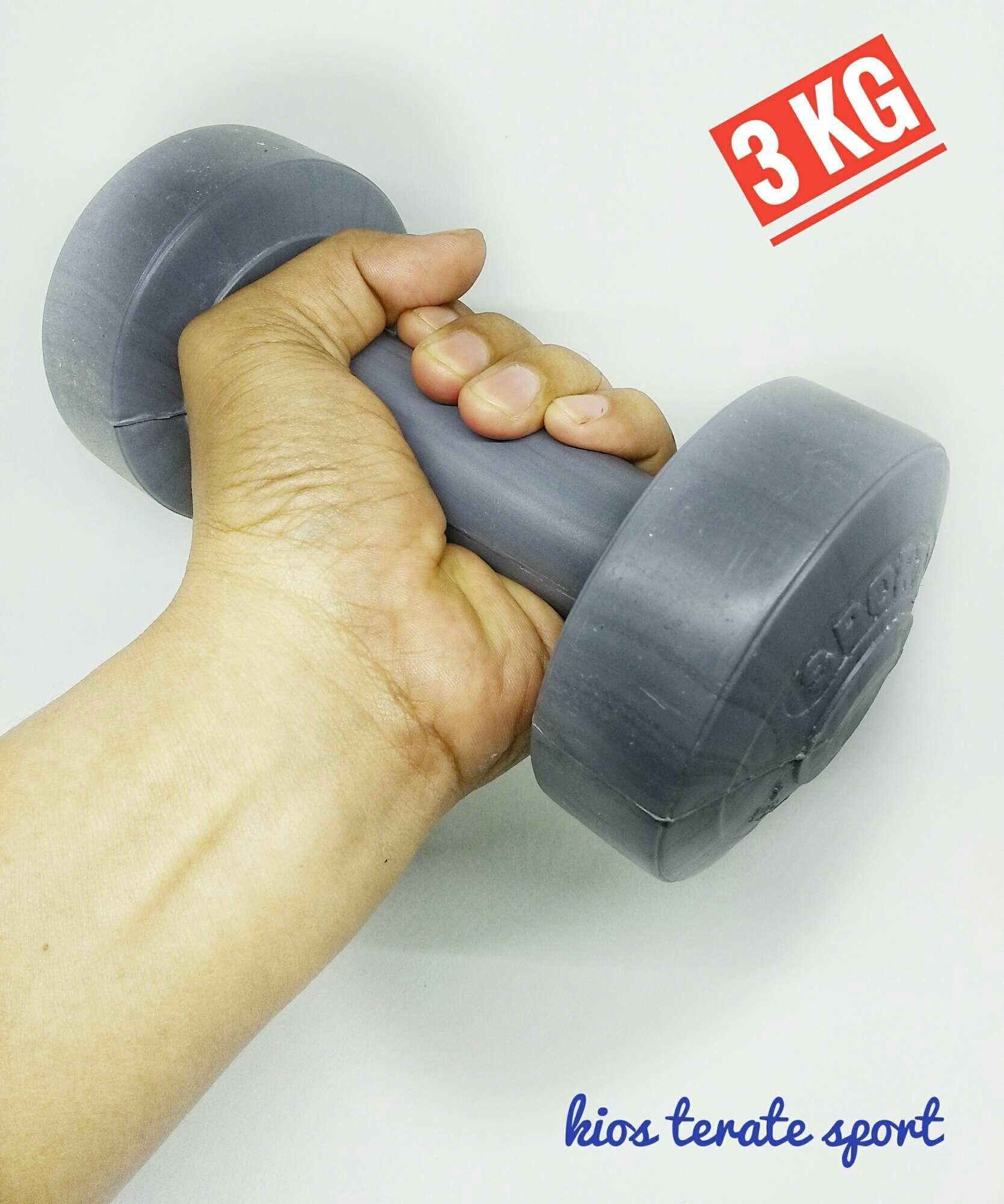 Jual Barbel 5kg Pemberat Tangan Alat Fitness Harga Rp 40500 Baarbeel 3kg Dumble
