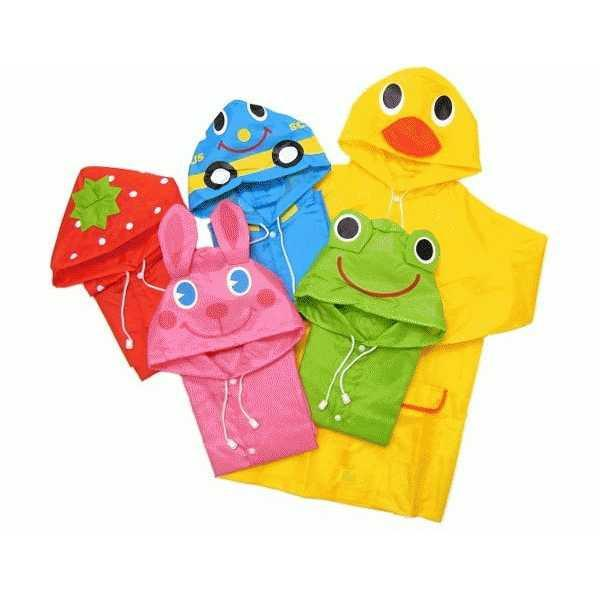Best Seller!!! Funny Raincoat For Children - Jas Hujan Anak Keren Terbaru Murah