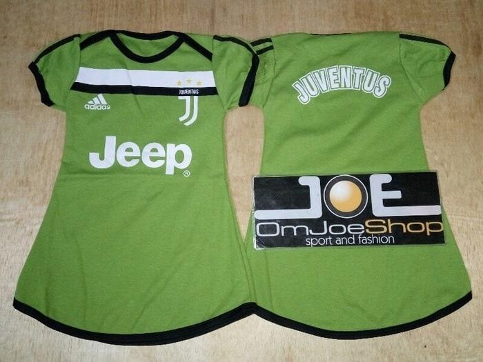 Diskon !!! Baju Bola Anak Cewek / Baby Dress Anak Bola Juventus 3rd 17/18 By Raksasa Importir Indonesia.