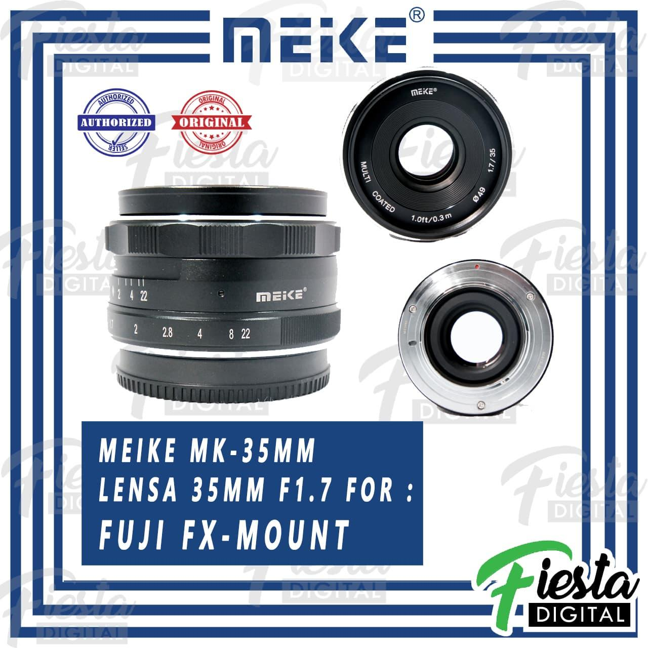 Lensa MEIKE 35mm f/1.7 for FUJI Mirrorless
