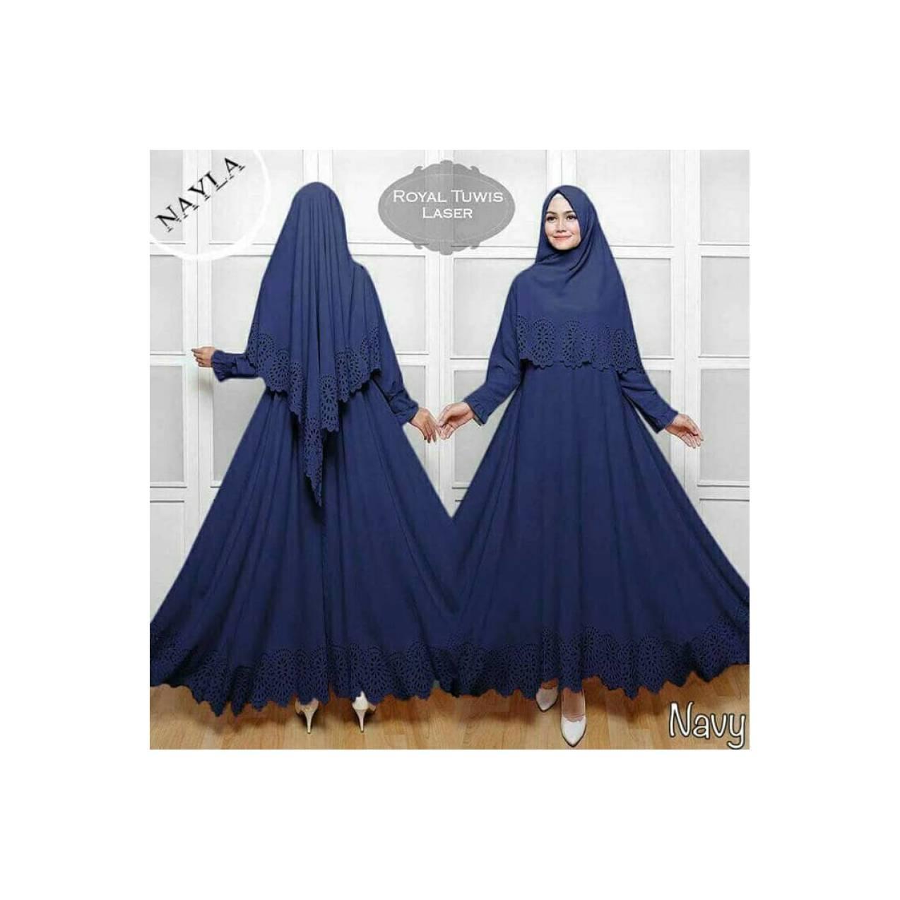 high quality Gamis / Baju Wanita Muslim Nayla Syari