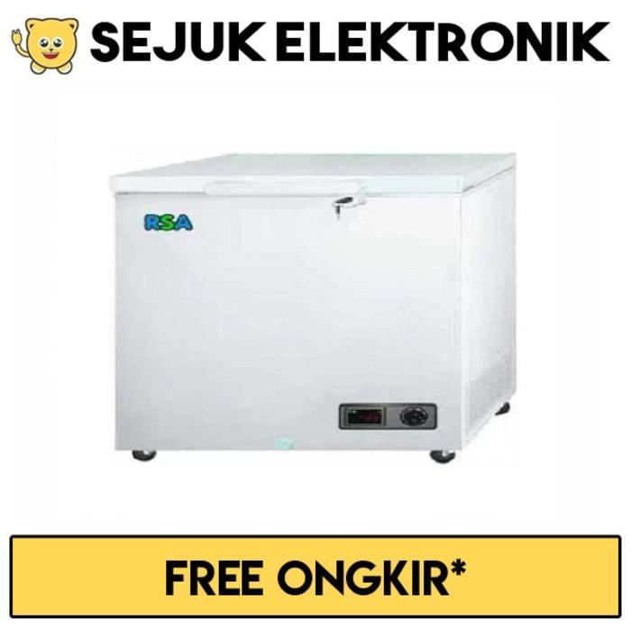 HARGA PROMO!!! RSA CF-220 Chest Freezer 220 Liter - Putih (jabodetabek) - e2oT58