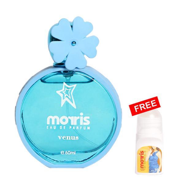 Morris Bunga Venus 60 ml Free Morris Roll On Energic 70 ml