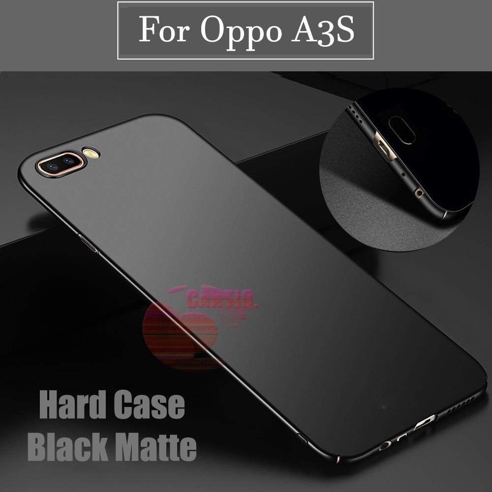 Case Oppo A3S Hard Slim Black Mate Anti Fingerprint Hybrid Case Baby Skin Oppo A3S Baby Soft Lenovo