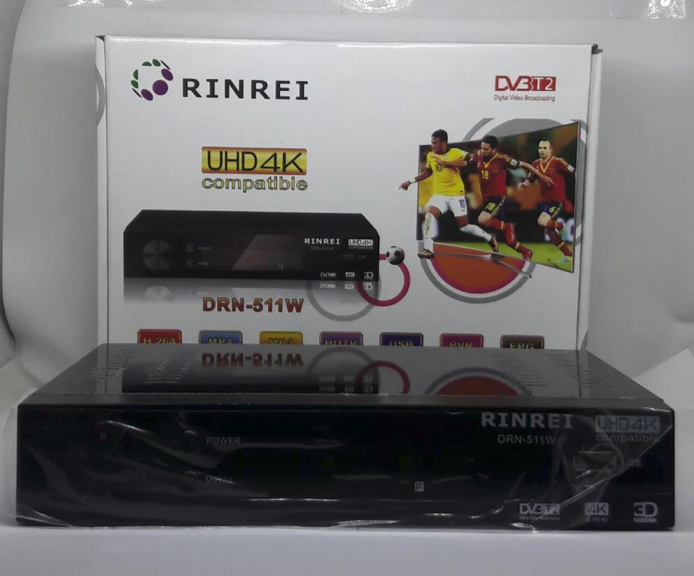 DVB T2 Set Top Box Digital Tv Receiver RINREI DRN-511W