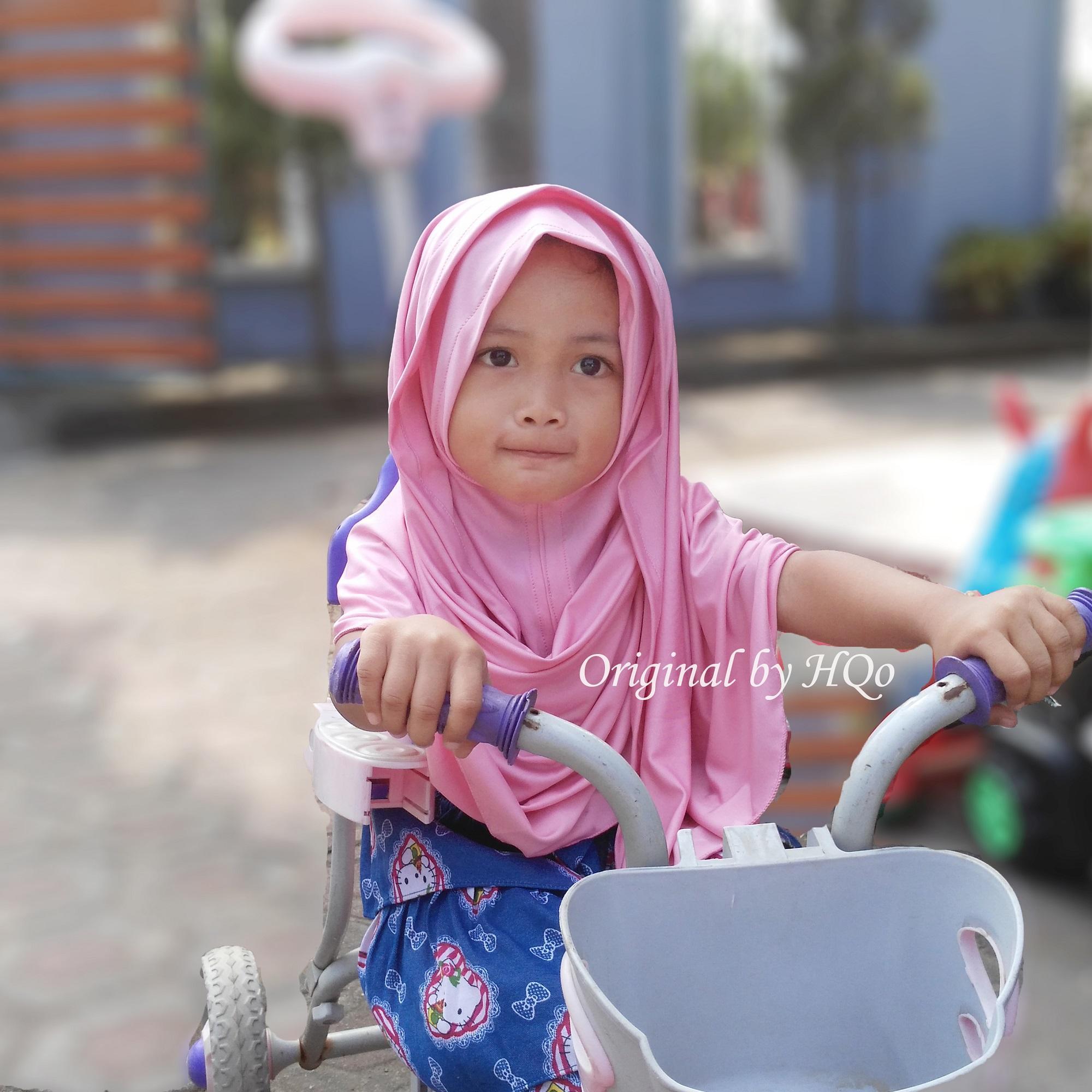 HQo Kerudung Anak Bayi / Jilbab Anak Lucu / Hijab Anak / Pashmina Anak / Pasmina Anak / Pasmini / Jilbab Anak Modis / Kerudung Anak Murah / Kerudung Rabbani / Model Jilbab Anak Terbaru Naia - Pink