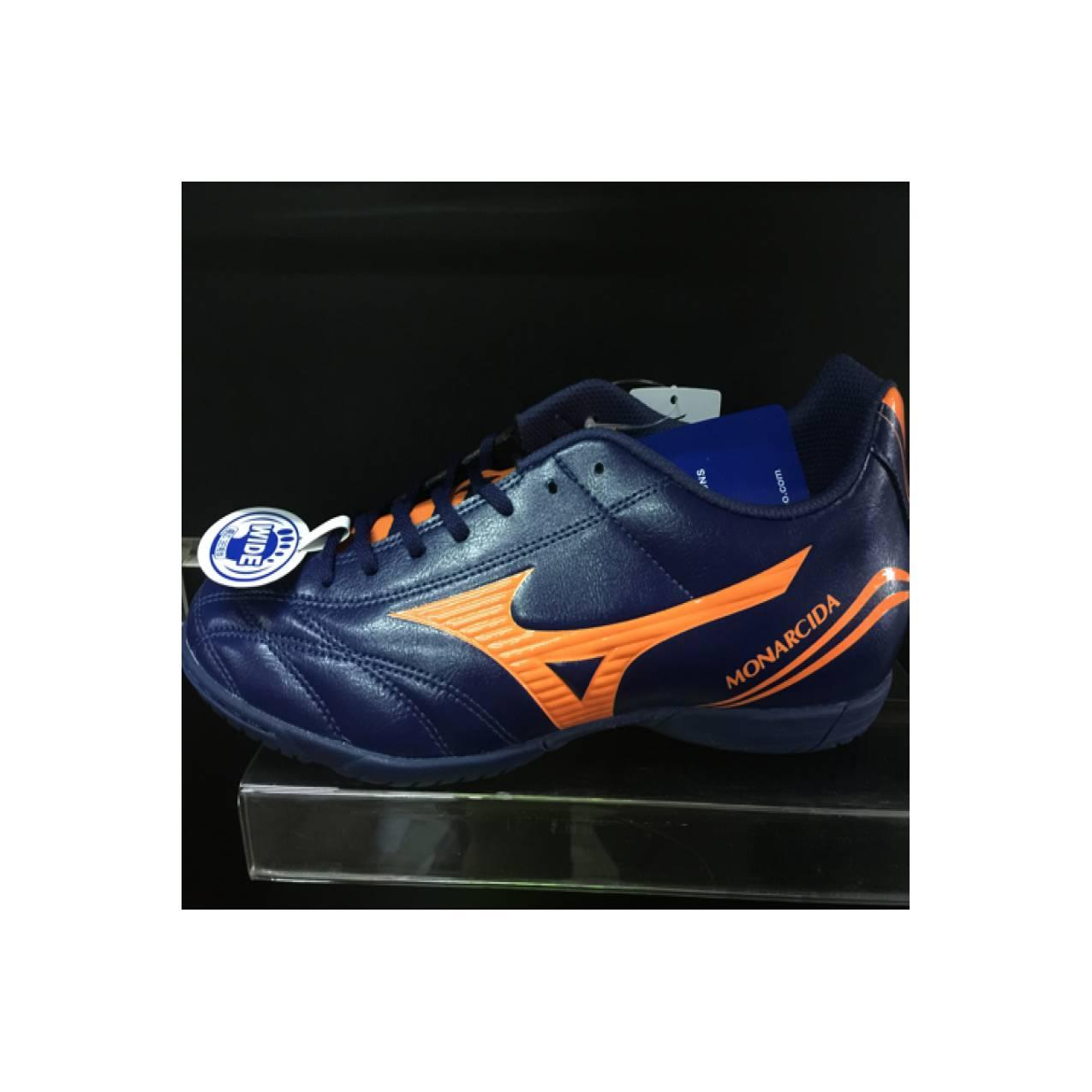 Sepatu futsal mizuno original monarcida FS IN wide blue depths murah