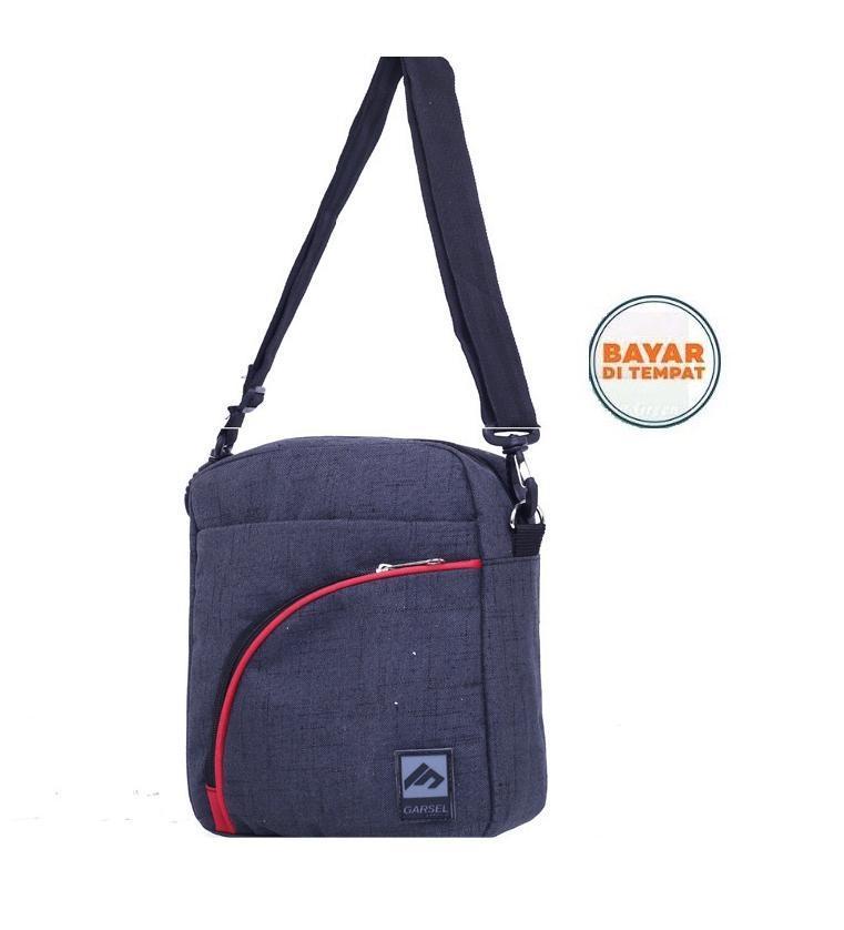 Garsel Tas Selempang Waistbag Trendy Bahu Samping FRK5961 - Abu