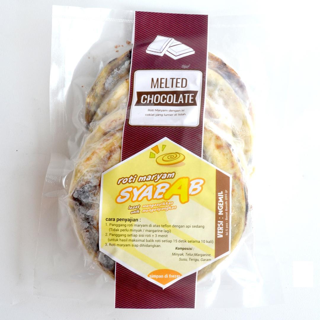 Melted Chocolate - Roti Maryam / Cane / Canai Syabab - Versi Ngemil - Coklat