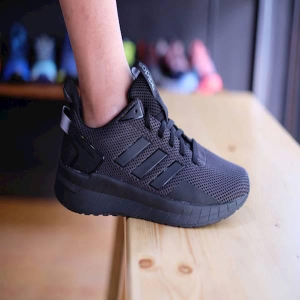 Termurah Sepatu Original Adidas Questar Ride Full Black BNWB Terbaru