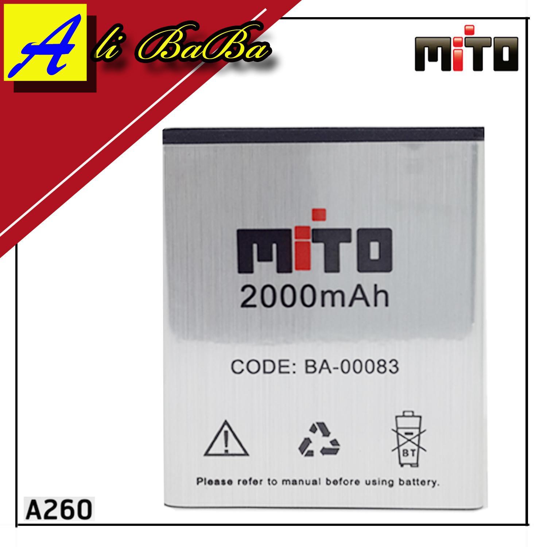 Baterai Handphone Mito Fantasy Mini A260 BA-00083 Batu HP Mito A260 Battery Mito Fantasy