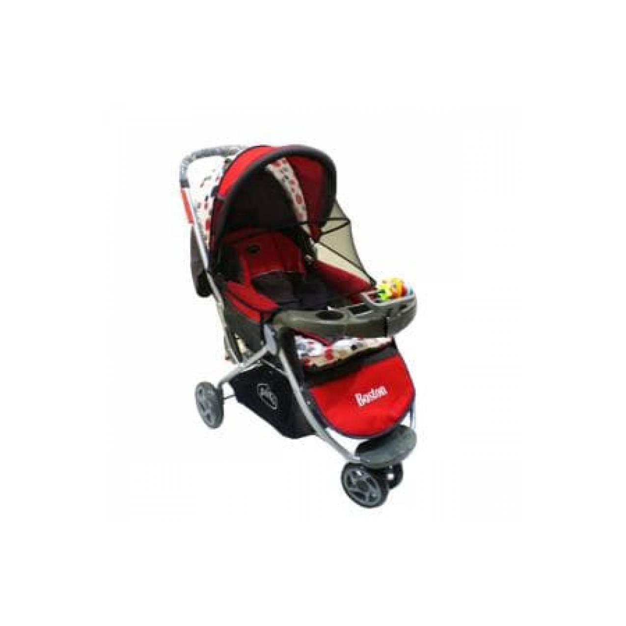 Stroller/Kereta Dorong Bayi Pliko Boston PK338 Roda 3 Limited