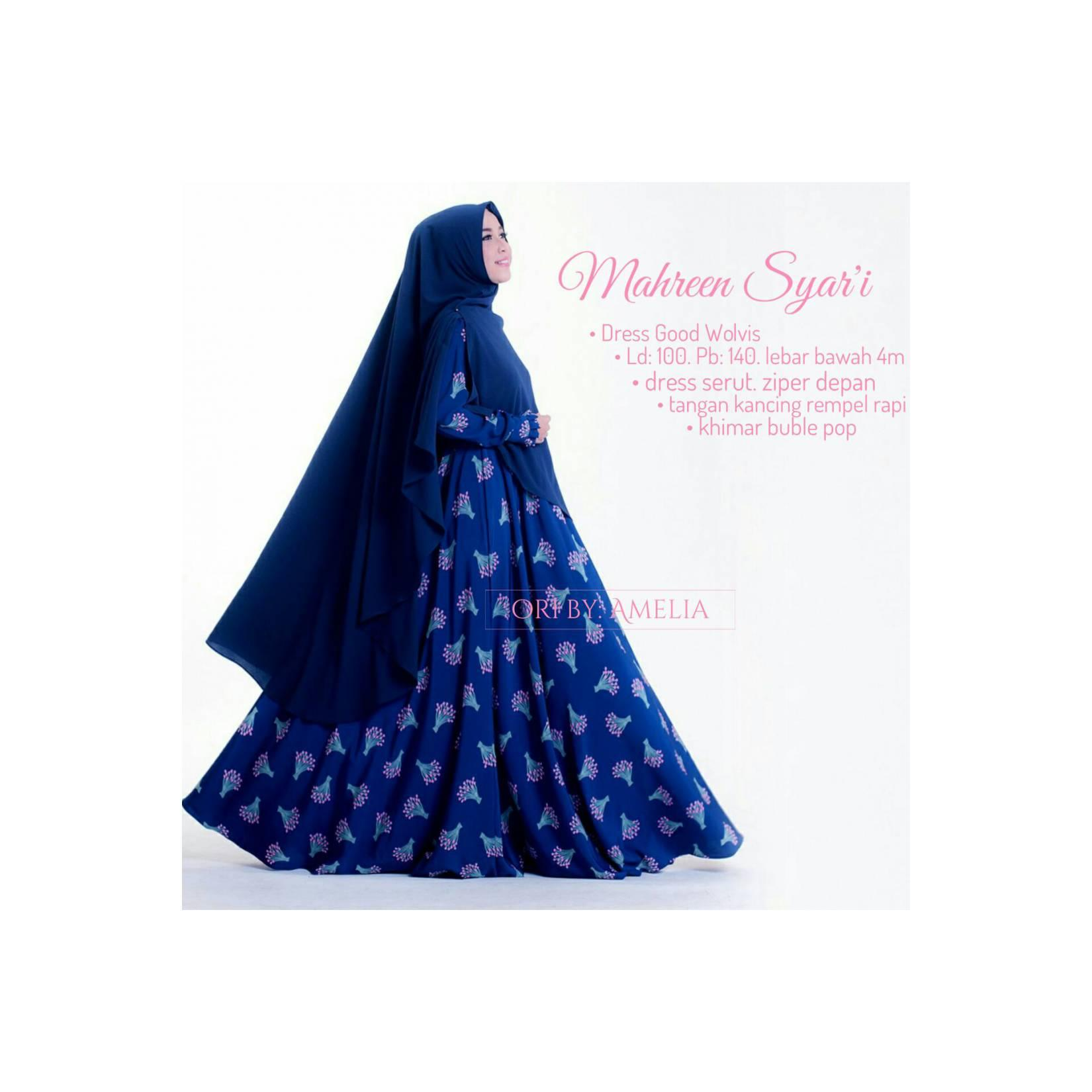 SUPPLIER HIJAB : MAHREEN SYARI BY AMELIA
