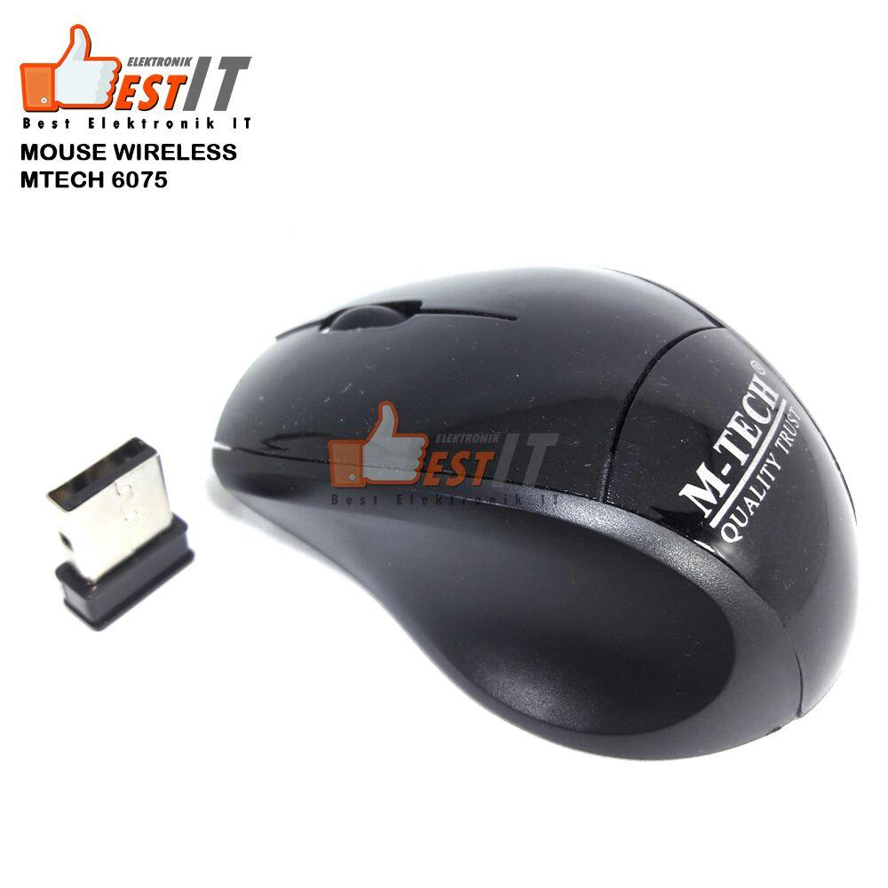 Mouse Wireless 6075 1600DPI Wireless Optical Mouse