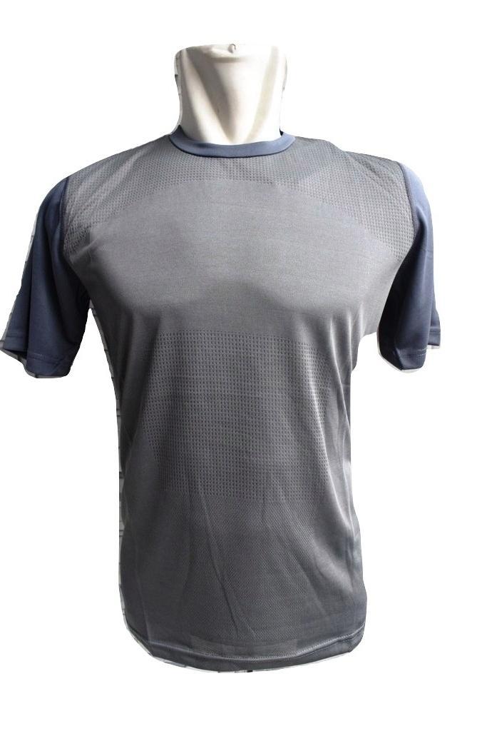 P021# Kaos lari baju olahraga gym fitness jersey kebugaran pria cepat kering futsal sepak bola