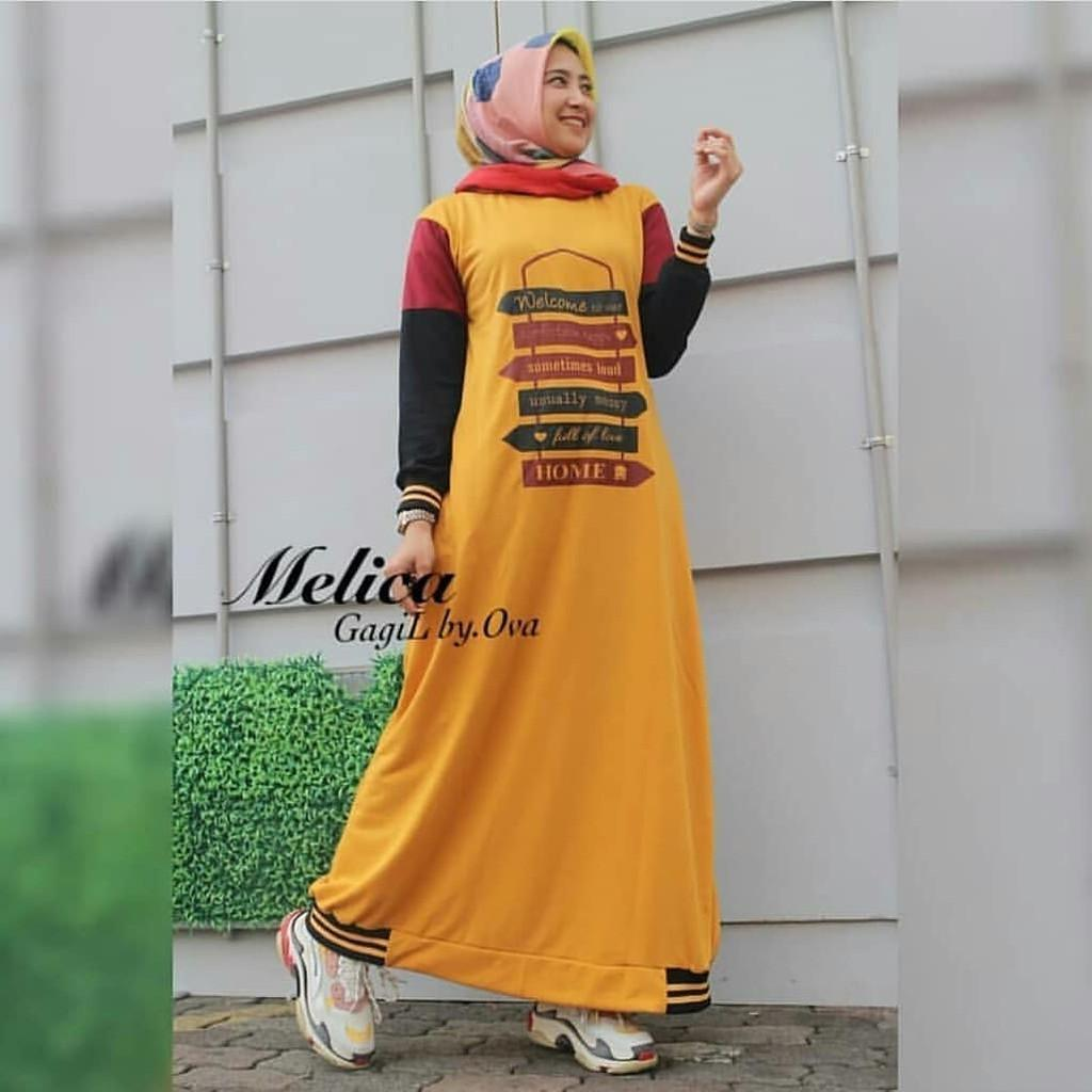 JAKARTA BLANJA -  melica dress | mc Fashion Dress / Atasan / Tunik / size M, L dan XL