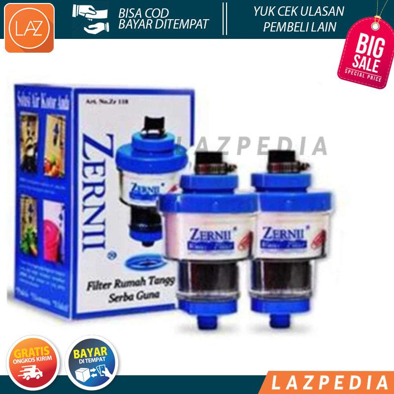 Laz COD - 2pcs Filter Keran Air Zerni / Filter Saringan Air Zernii / Karbon Aktif