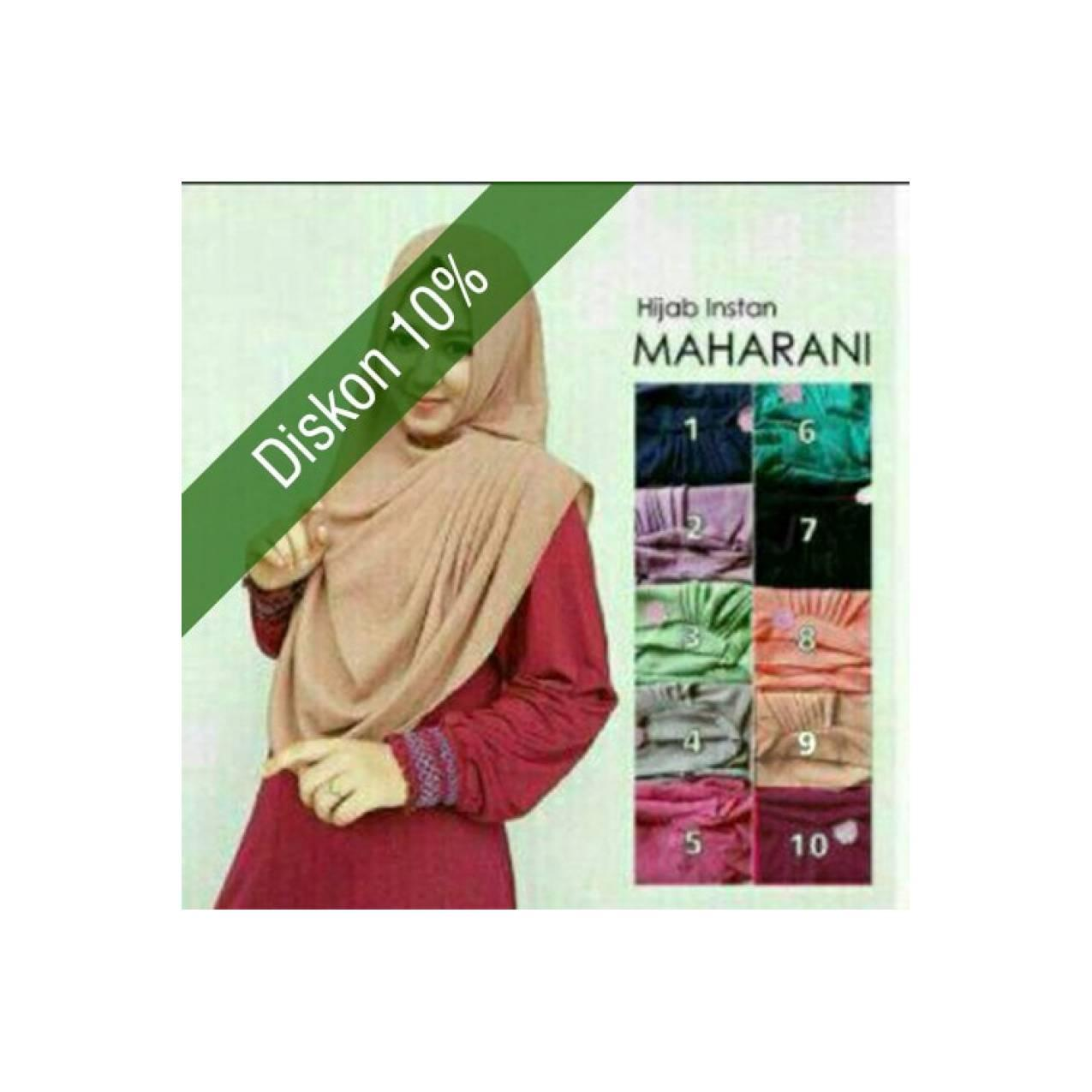 Jilbab Rabbani Hijab Syar i Instan Maharani HJ48