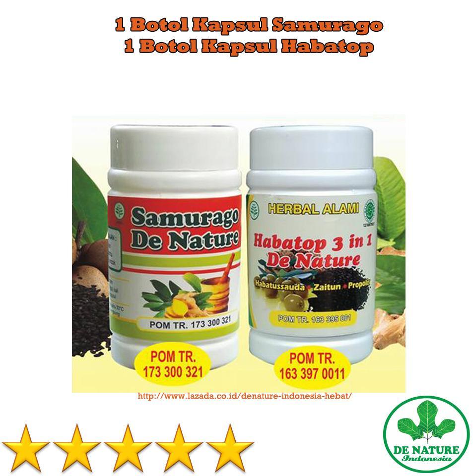 De Nature - Obat Tradisional Alami Herbal Ampuh Untuk Sakit Bahu / Penyakit Rematik / Pengapuran