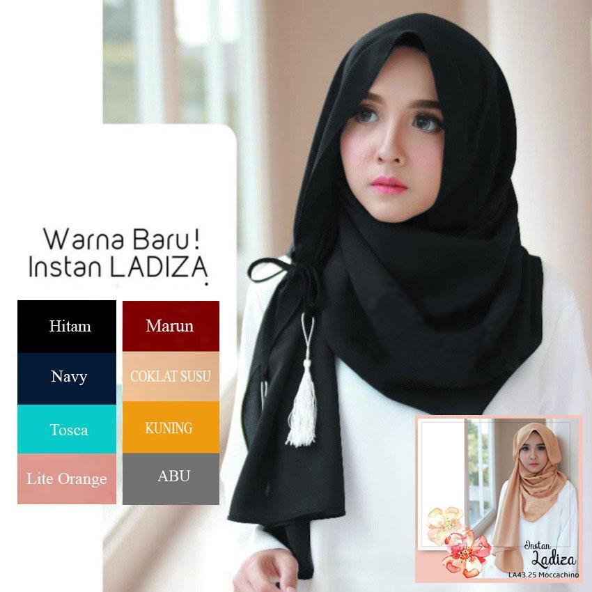 ADIVA Hijab Wanita Cantik - Hijab Instan / Kerudung Instan LADIZA/AMIRA- Pasmina Instan
