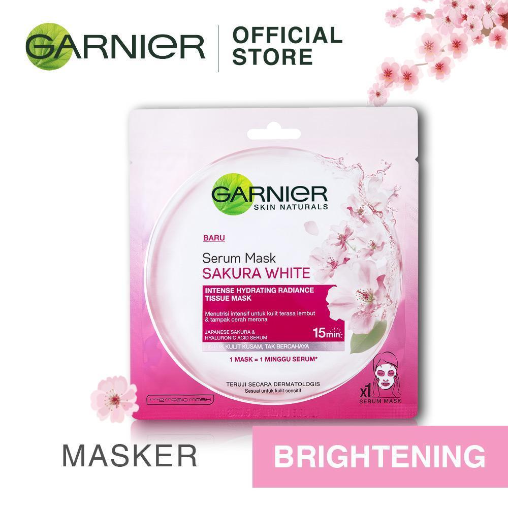 Garnier Serum Mask Sakura White [Masker]
