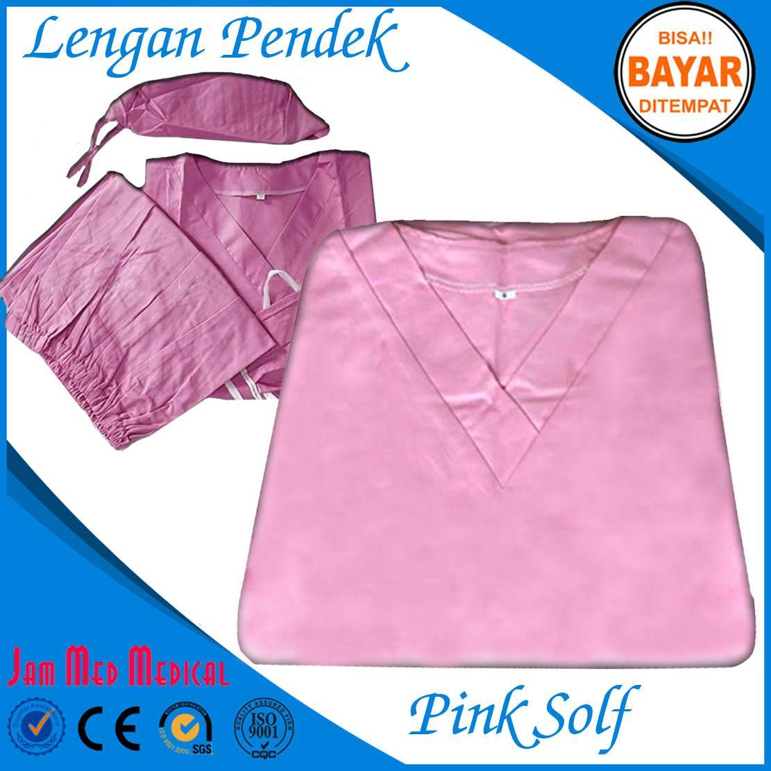 Buy Sell Cheapest Baju Oka Best Quality Product Deals Lengan Pendek Ok Jaga Warna Pink Soft