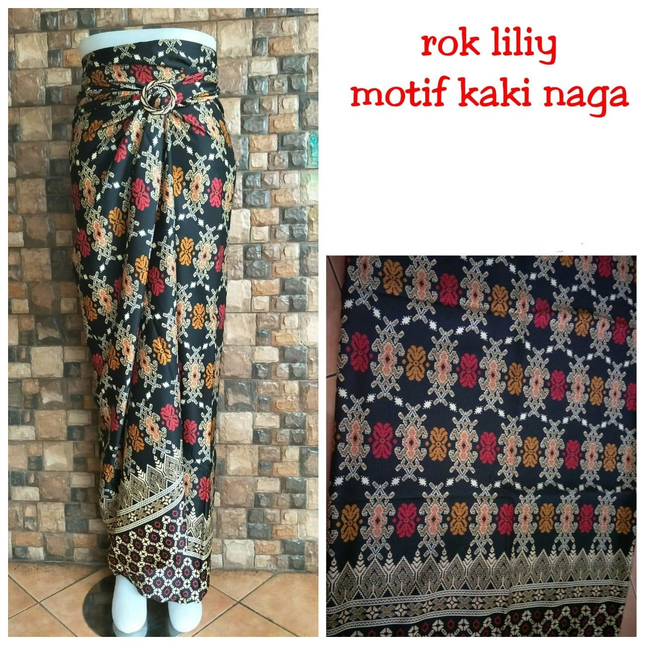 Cj collection Rok lilit batik panjang wanita jumbo long skirt Jayla