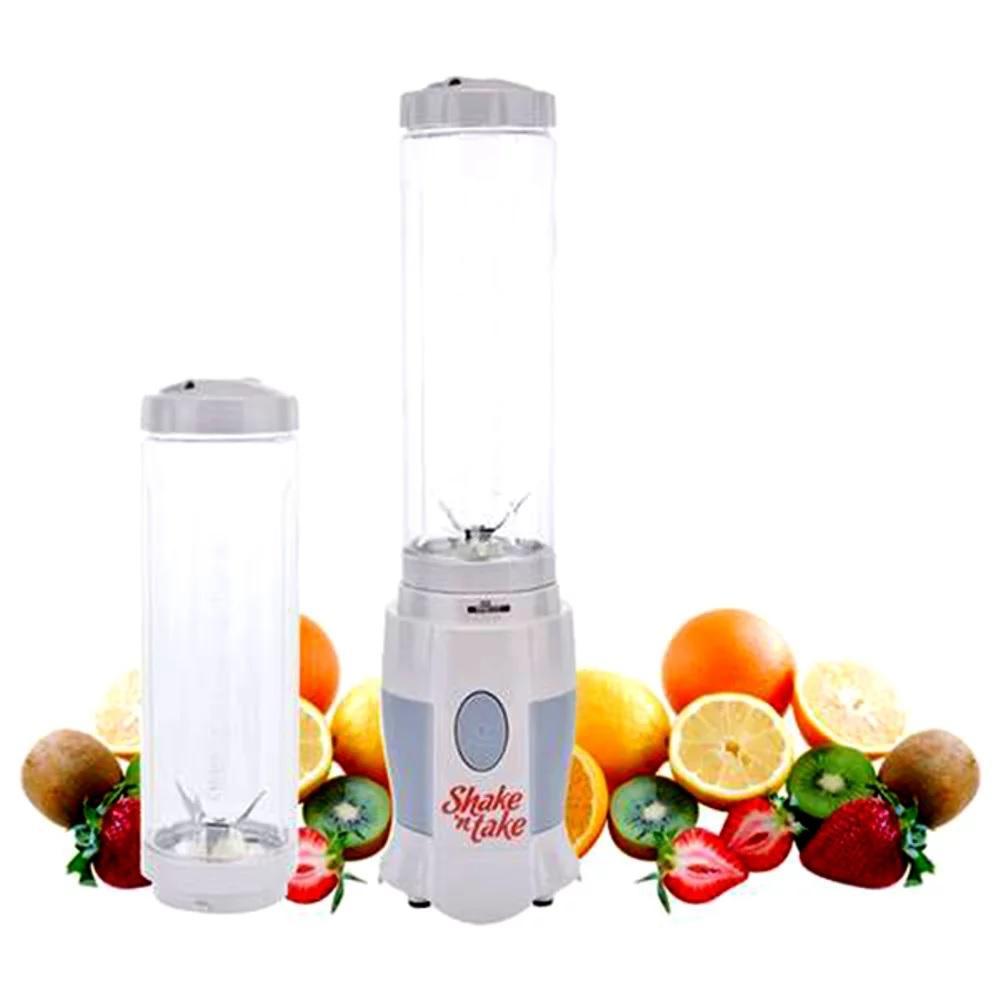 Shake N Take 2 Cup Shake And Take 2 Tabung Blend N Go Dengan 2 Gelas Juicer Blender Dapur Shake & Take Households Mixer Fruit Buah Detok Detoks Blended Ice Es Batu Terbaru