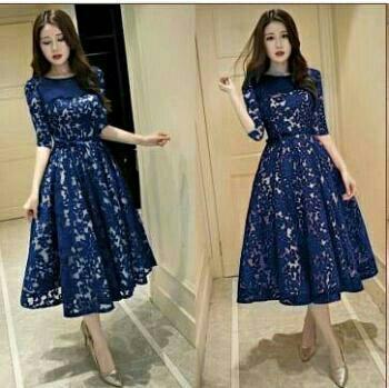 Honeyclothing Gaun Wanita Gamma   Dress Pesta   Dress Murah   Baju Dress  Masa Kini   c09fa6949f