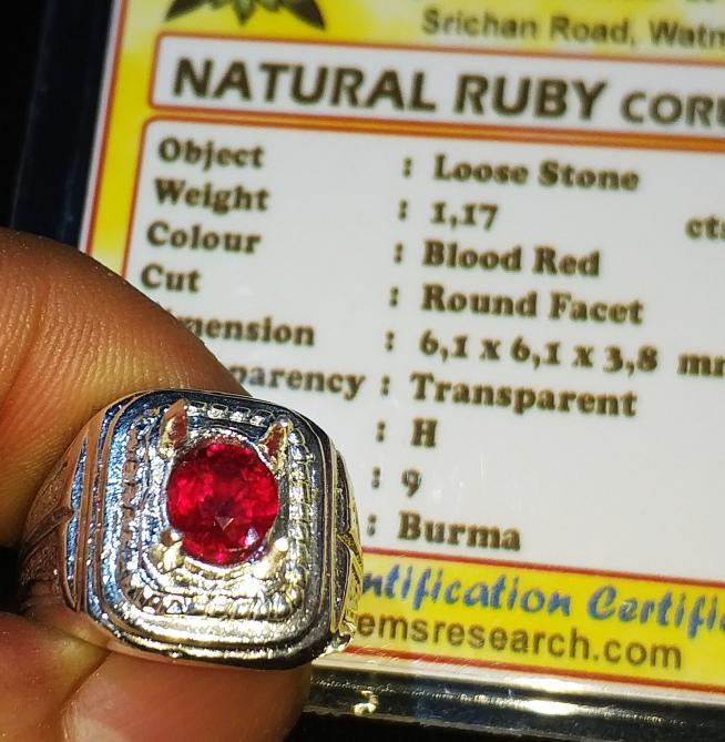 Promo Big Sale Perhiasan Aksesoris Natural Ruby Burma Super Blood Red Hq Luster Menyala Bkn Blue Sapphire By Natural Gemshop.