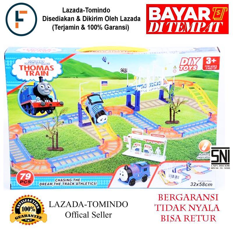 Tomindo Mainan Kereta Thomas Train / Mainan Anak / Mainan Kereta By Tomindo.