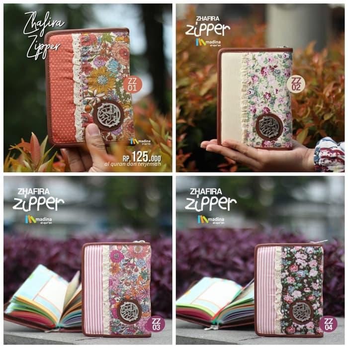 Best Seller Al Quran / AlQuran Rainbow Pelangi Madina Zhafira Zipper